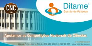 DITAME apoia as Competições Nacionais de Ciências